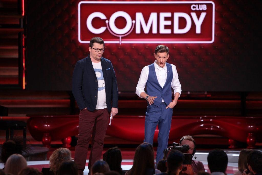 Гарик Харламов и Павел Воля (Кадр из Comedy Woman)
