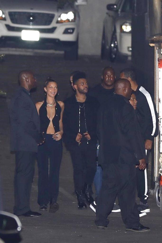 Белла Хадид и The Weeknd на вечеринке Кайли Дженнер (Фото: legion-media.ru)