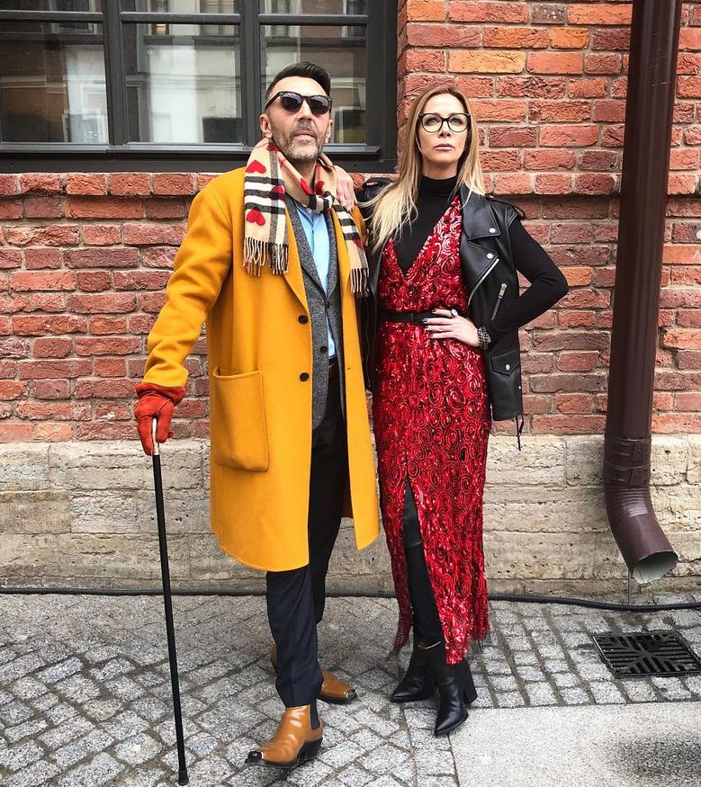 Сергей Шнуров и Ника Белоцерковская
