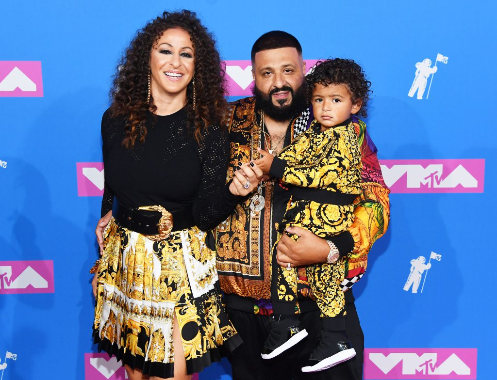 DJ Khaled с семьей