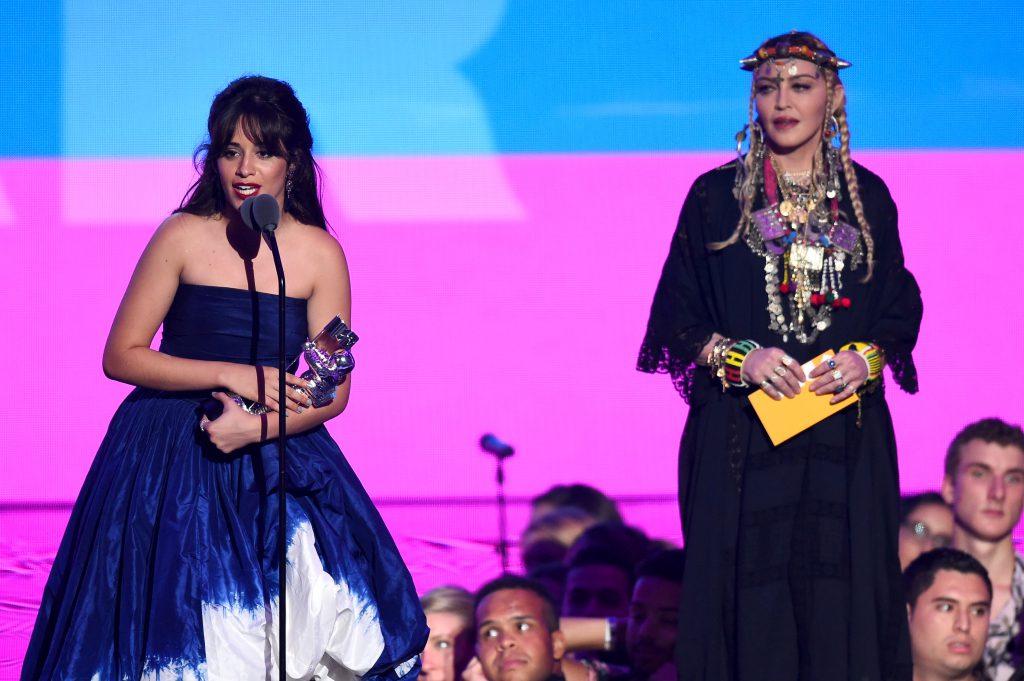 Камила Кабелло и Мадонна