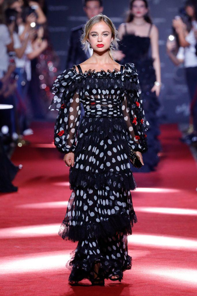Амелия Виндзор на показе Dolce&Gabbana
