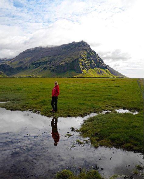 Ника Белоцерковская в Исландии