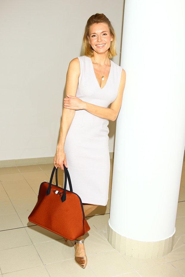 Любовь Толкалина с сумкой Save My Bag