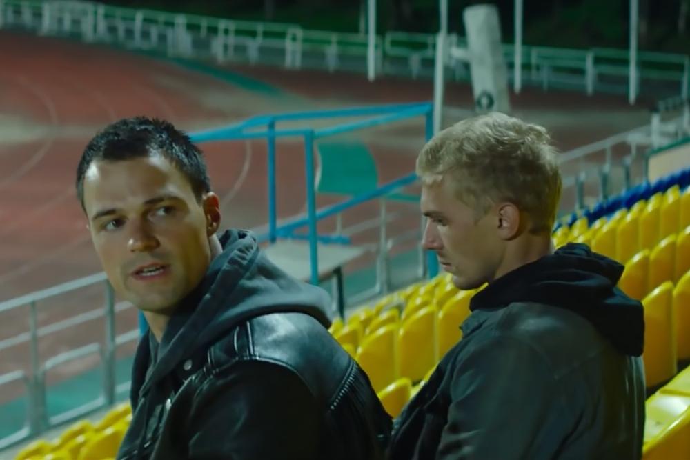 Кадр из фильма «На районе»