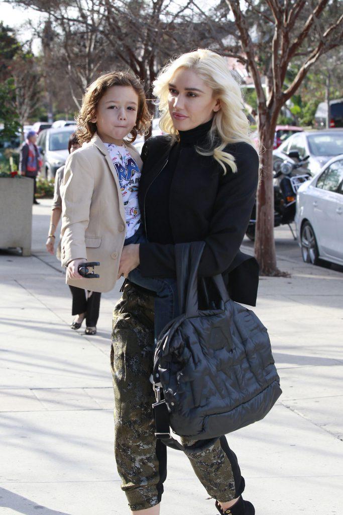 Гвен Стефани с младшим сыном