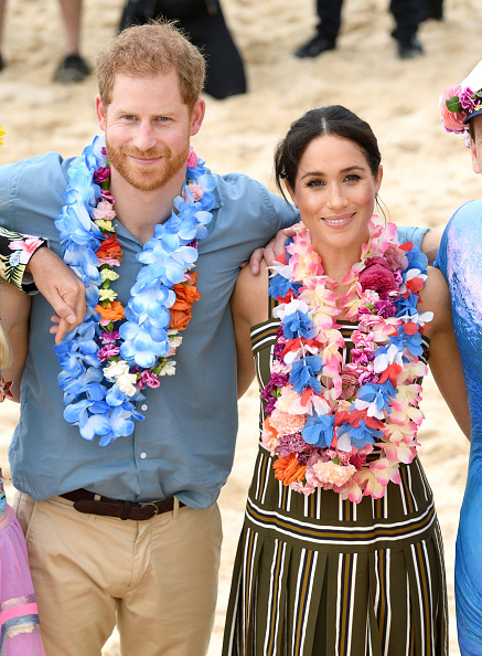 Принц Гарри и Меган Маркл в Сиднее