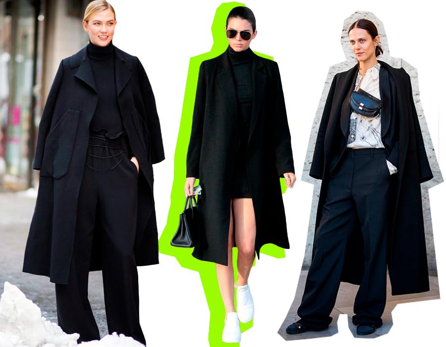 d06b4213898 Пару дней назад мы столкнулись с огромной проблемой – почти ни один  демократичный бренд не выпустил в этом сезоне ни одного идеального черного  пальто.