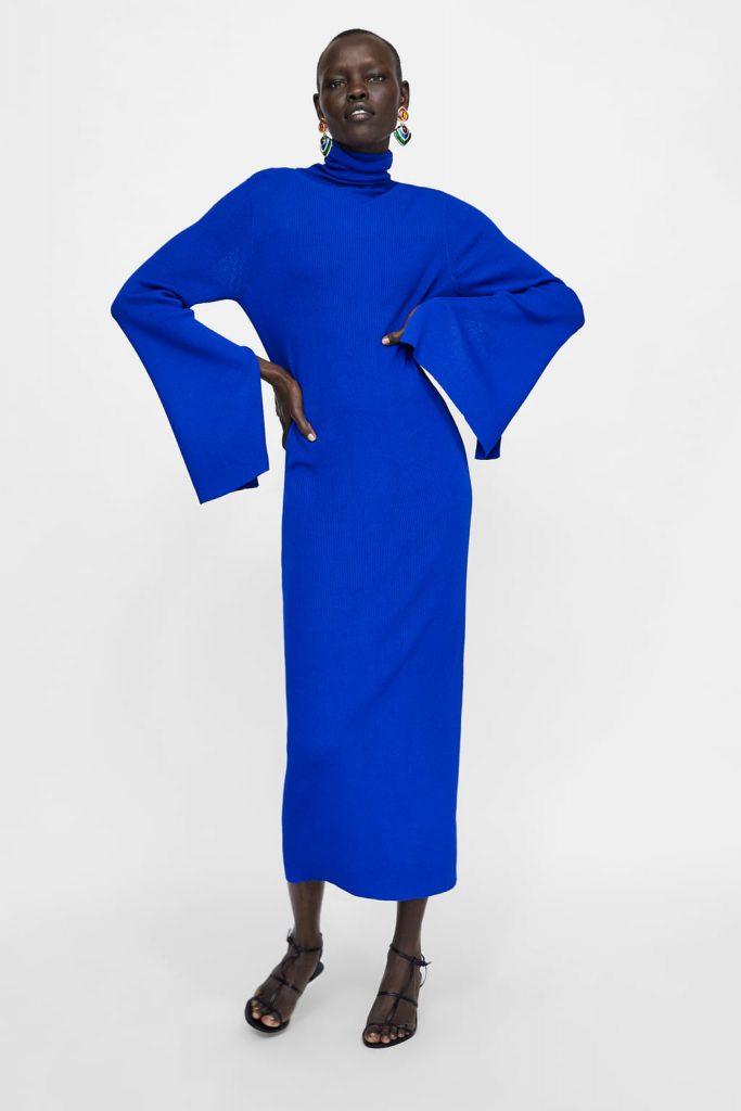 Трикотажное платье Zara, 2999 p. (zara.com)