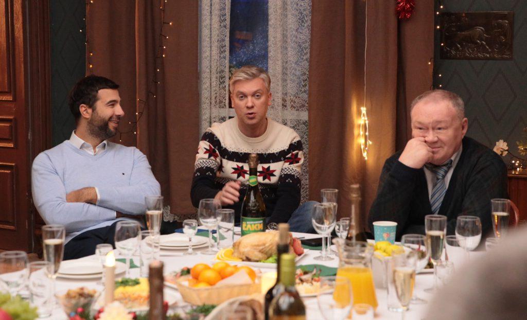 Иван Ургант, Сергей Светлаков и Юрий Кузнецов