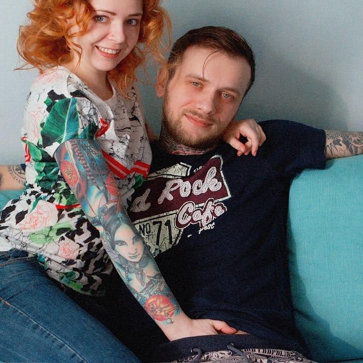 Женя с мужем Анатолием