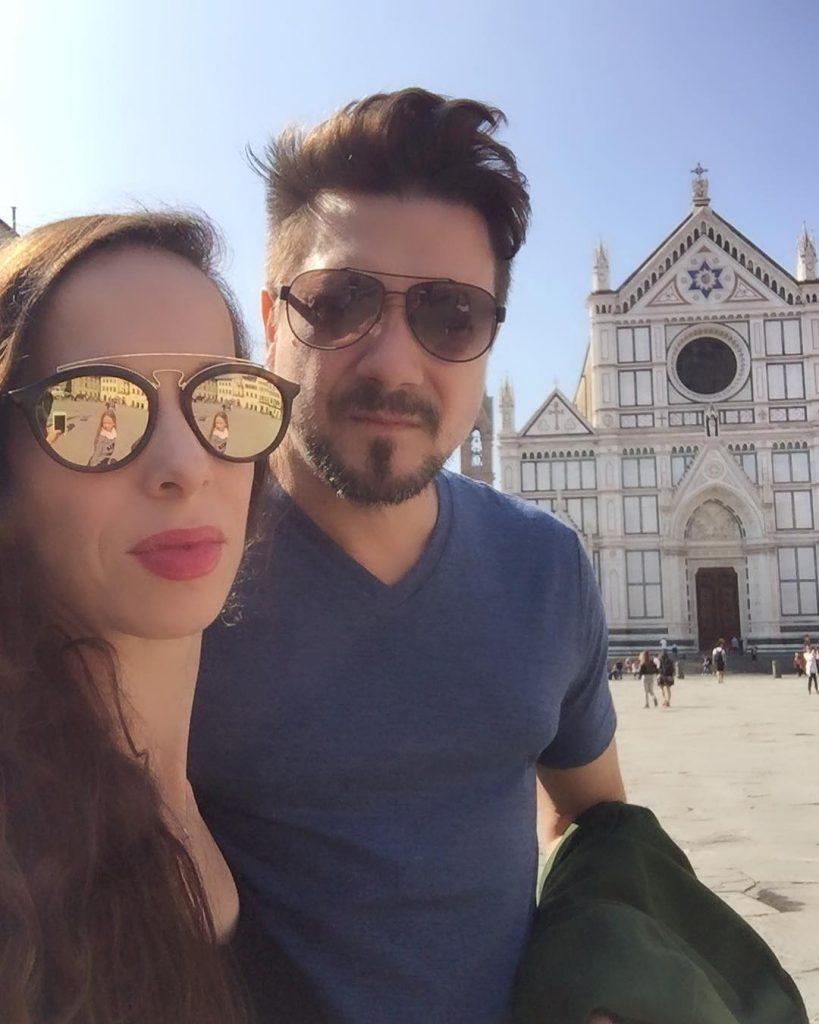 Виктория с мужем