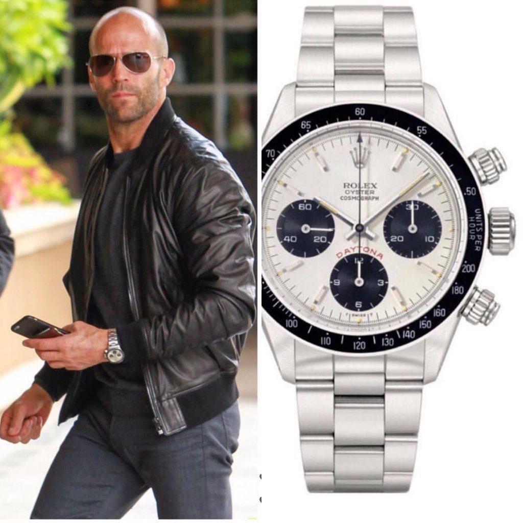 Джейсон Стэтхем - Rolex 85 тысяч рублей (5 525 000 рублей)