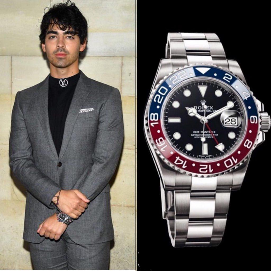 Джо Джонас - Rolex 39 250 долларов (2 551 250 рублей)