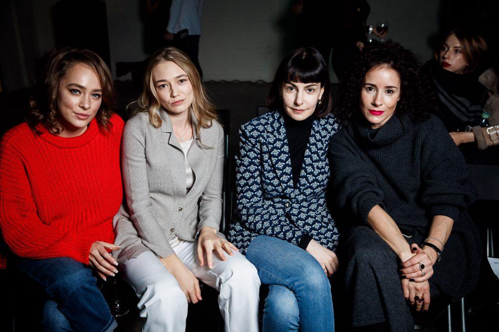 Аглая Тарасова, Оксана Акиньшина, Татьяна Долматовская и Ольга Сутулова