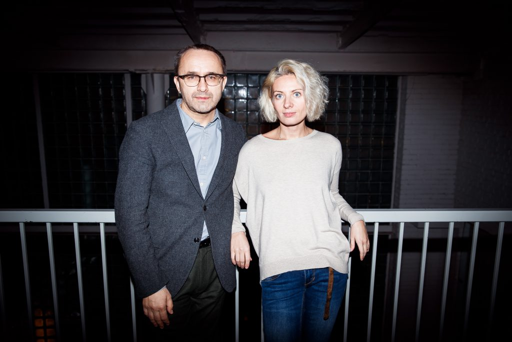 Андрей Звягинцев и Анна Матвеева