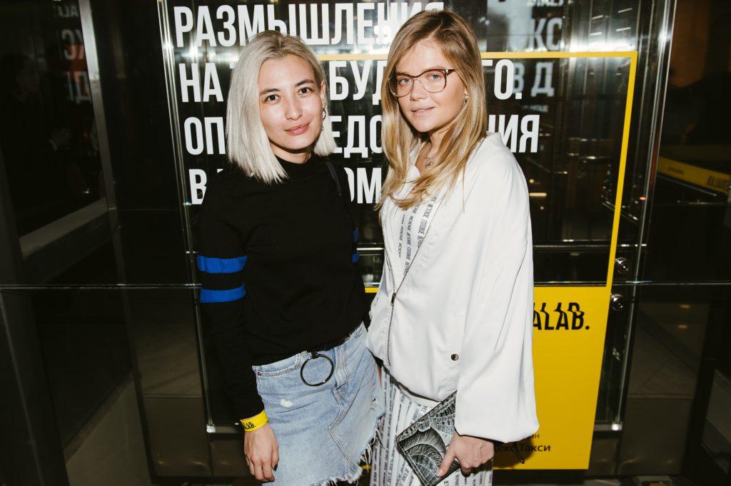 Азия Цыденова и Мария Ивакова