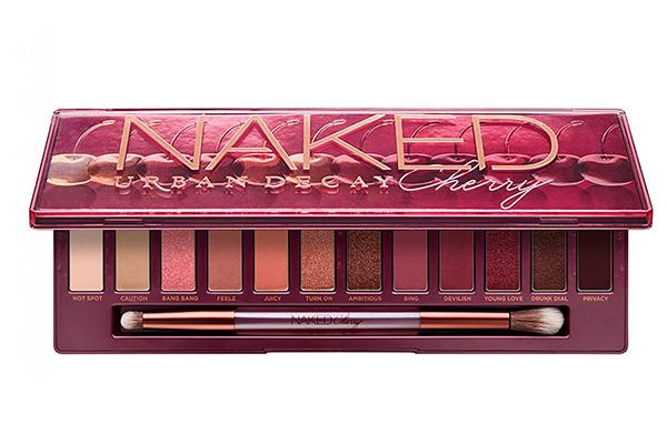 Палетка теней Naked Cherry подойдет для создания идеального макияжа в розовых оттенках.