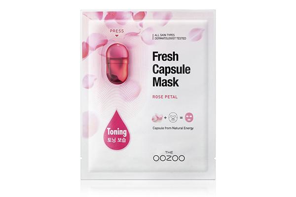 Маска с лепестками дамасской розы, THE OOZOO делай ее каждый день, и кожа будет оставаться идеальной даже после морозов в минус 30!