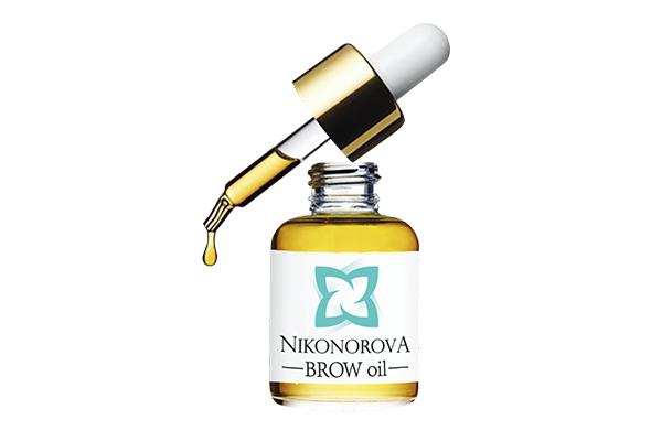 Профессиональное масло для ухода за бровямиBrow-oil Nikonorova нужно использовать вечером за 2 часа до сна, чтобы волоски росли быстрее и  брови всегда выглядели идеально.