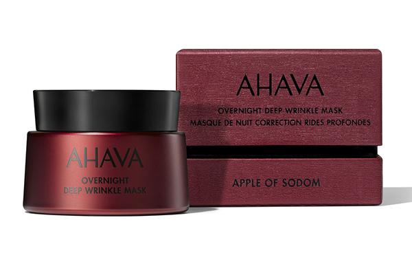 Ночная маска против глубоких морщин Ahava. Наносишь перед сном, а результат получаешь уже утром — кожа свежая и гладкая!