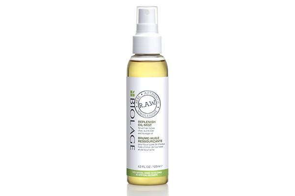 Восстанавливающее масло-вуаль Biolage R.A.W. Replenish Oil-Mist используй каждый день, если твои волосы совсем в плачевном состоянии, или раз в месяц для поддержания красоты и здоровья своих локонов.