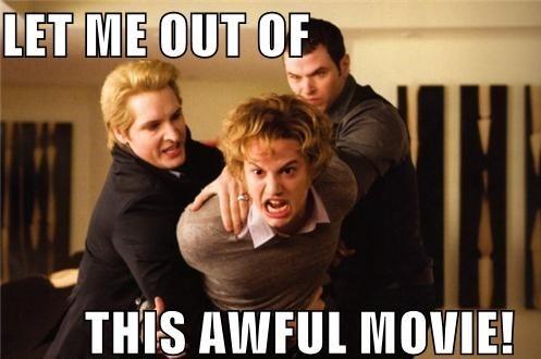 «Выпустите меня из этого ужасного фильма»