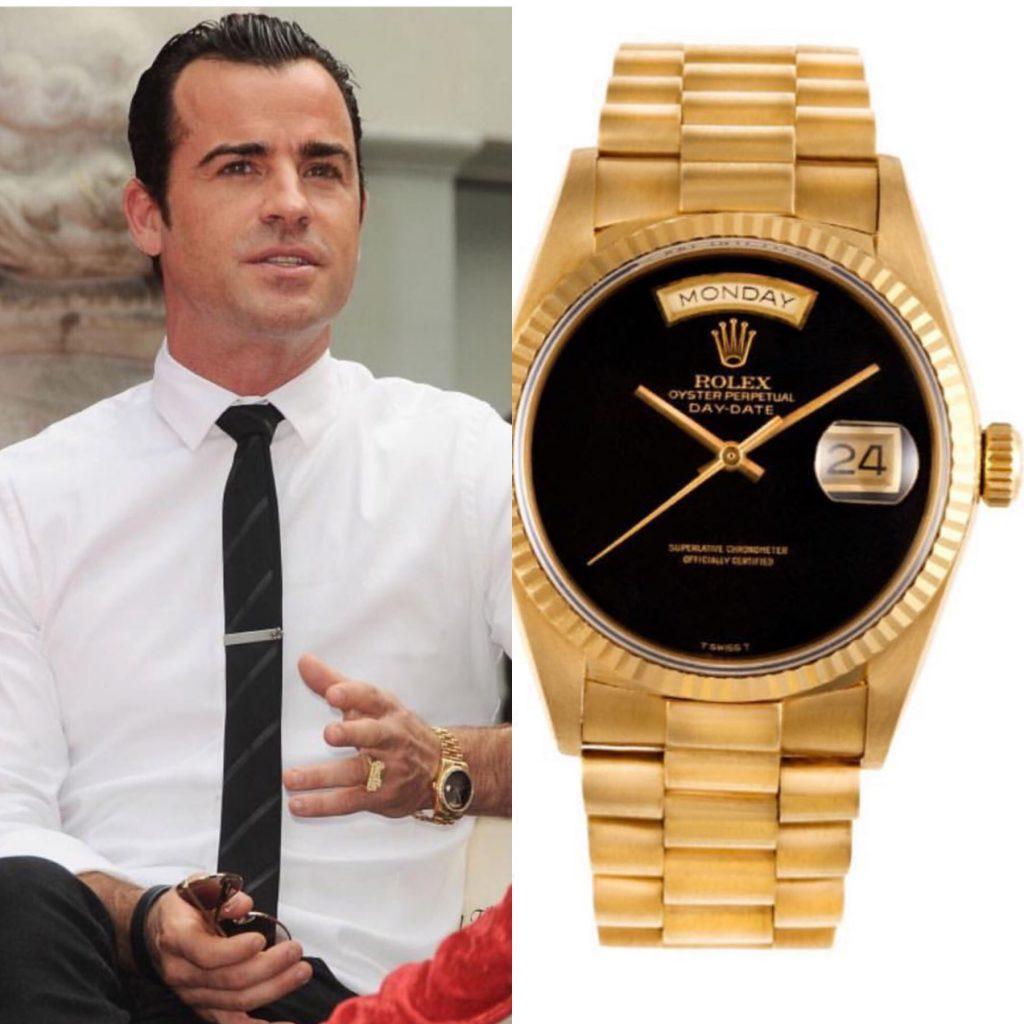 Джастин Теру - Rolex 16 тысяч долларов (1 040 000 рублей)