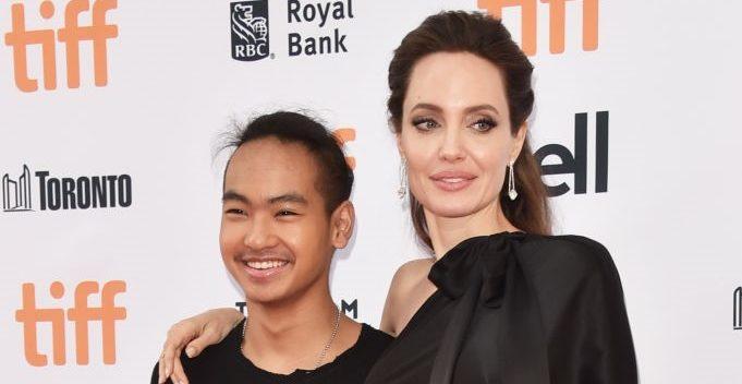 Мэддокс и Анджелина Джоли
