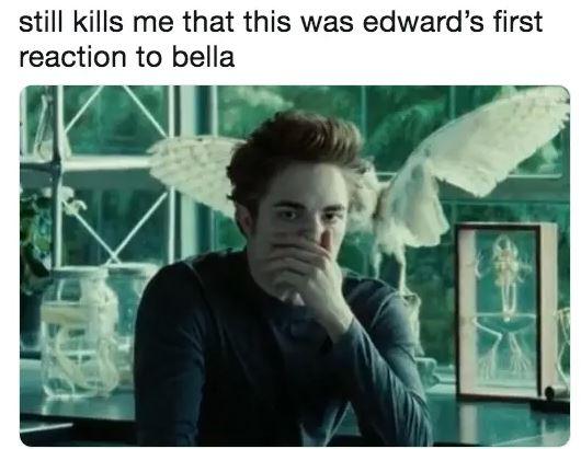 «Меня до сих пор убивает, что именно такой была первая реакция Эдварда на Беллу»