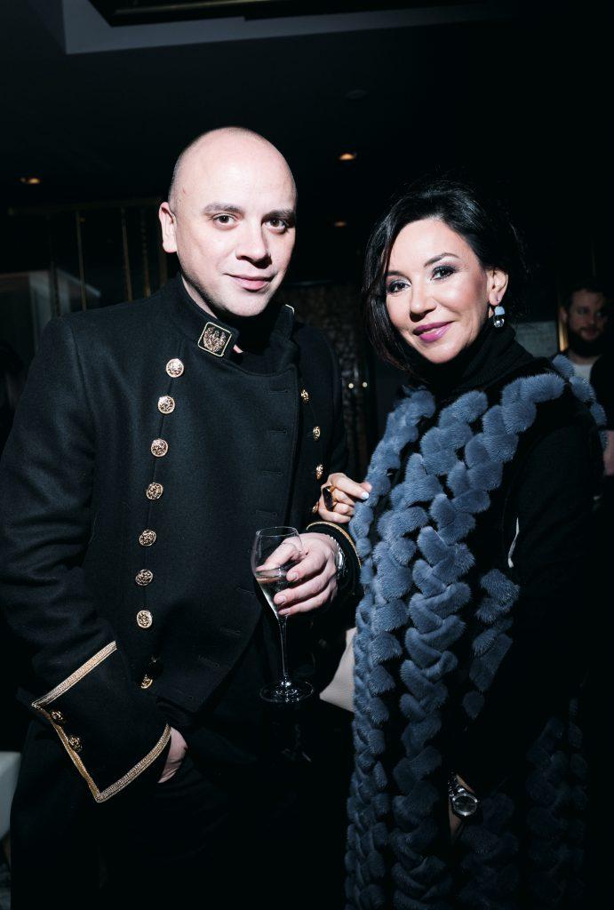 Иван Афанасьев и Ирина Чайковская