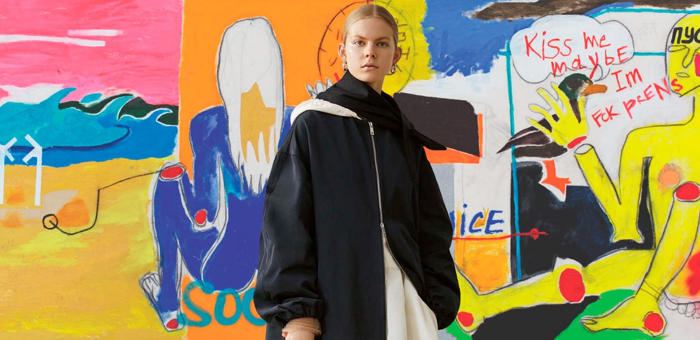 Новое поколение: русская модель и художница Жоли Элиен о первой выставке и работе с Jil Sander