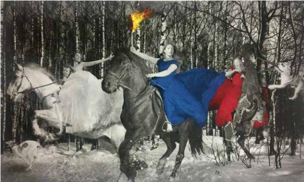 Олег Кулик «Русские женщины»