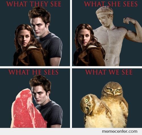 «Что видят они/ Что видит она/ Что видит он/ Что видим мы»