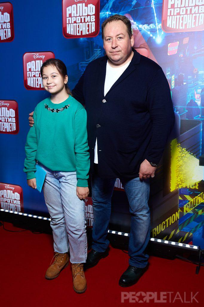 Станислав Дужников с дочерью