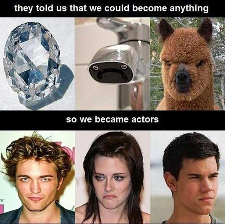 «Они сказали, что мы можем стать, кем угодно, мы решили быть актерами»