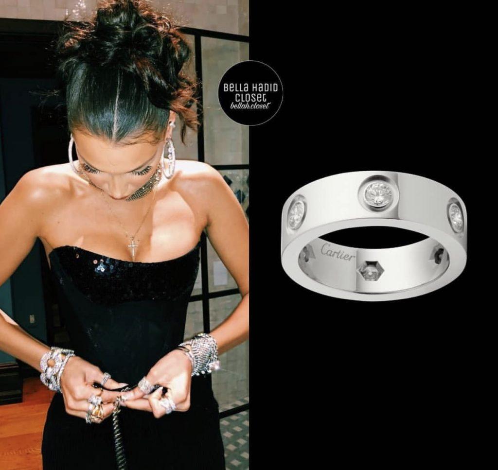 Кольцо Cartier Love 5600 долларов