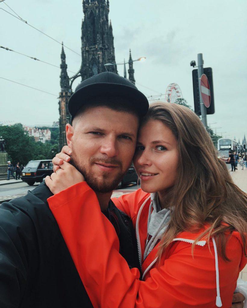 Игорь Чехов и Юлия Топольницкая