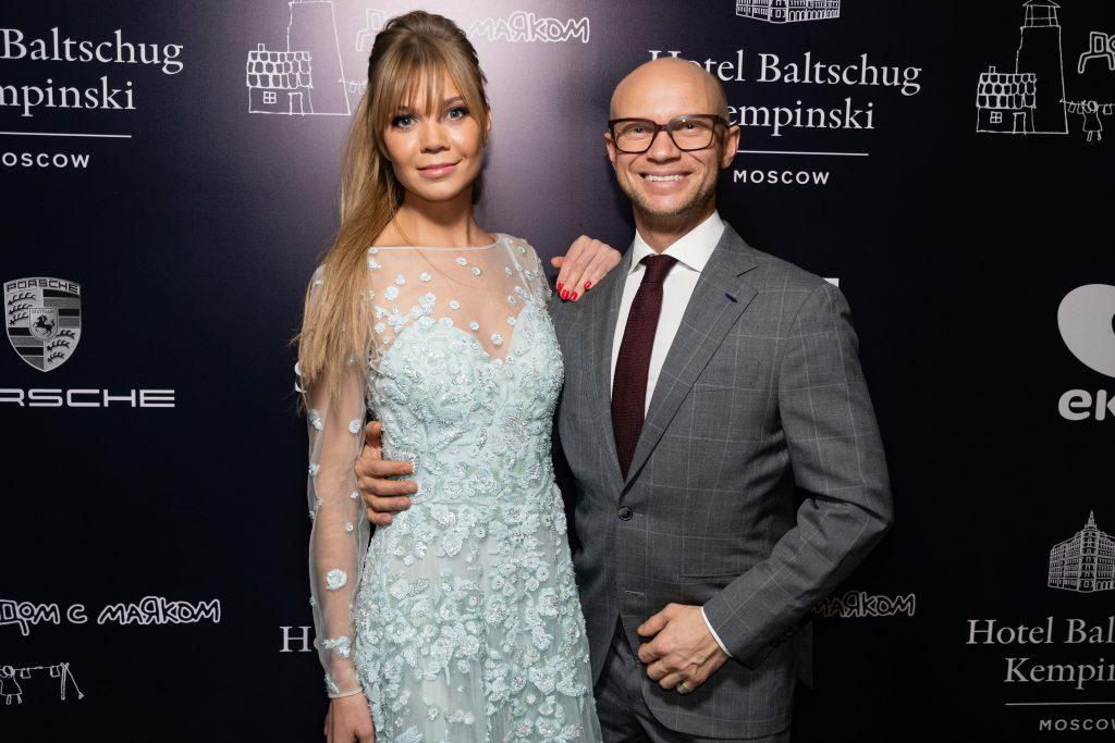 Алла Михеева и Дмитрий Хрусталев