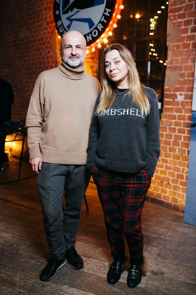 Анзор Канкулов и Наталья Лучанинова