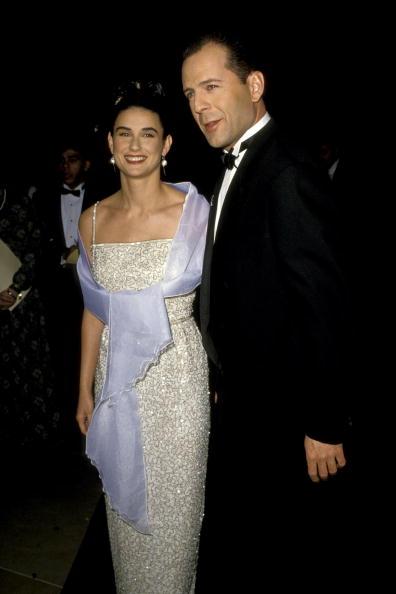 Брюс Уиллис и Деми Мур (1990)