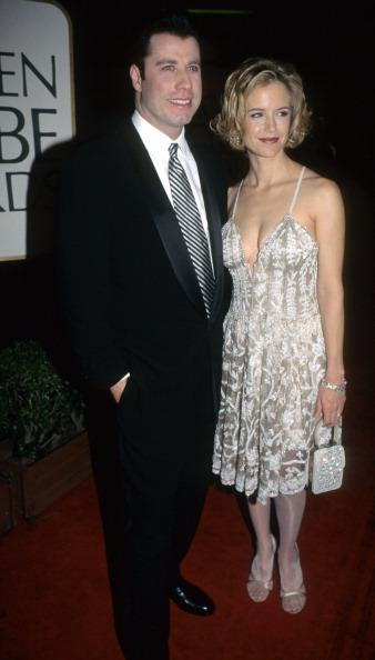 Джон Траволта и Келли Престон (1995)