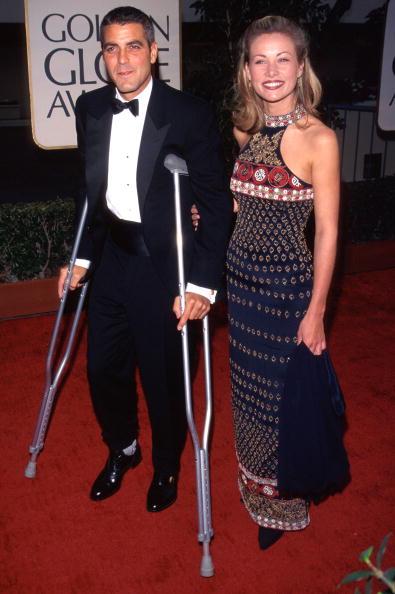 Джордж Клуни и Селин Балитран (1997)