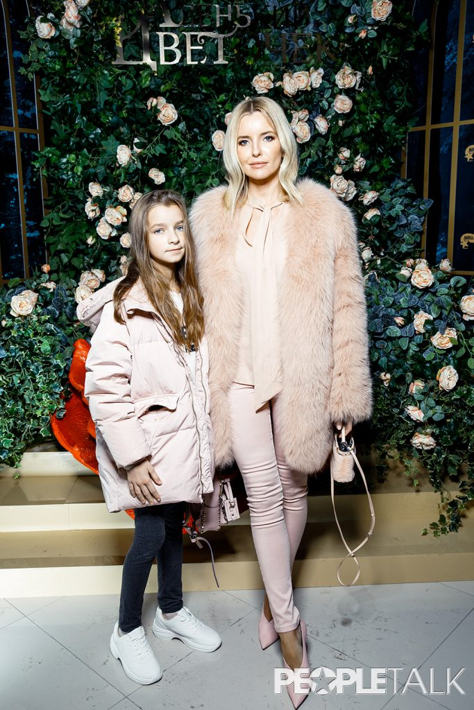 Наталия Якимчик с дочерью