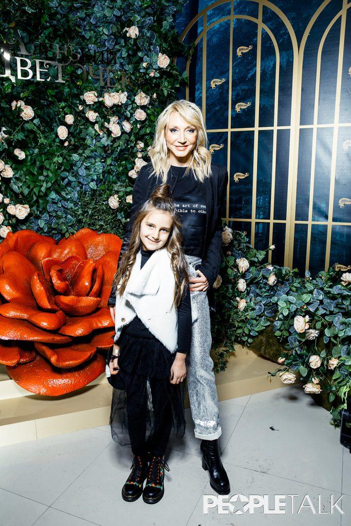 Кристина Орбакайте с дочерью Клавдией