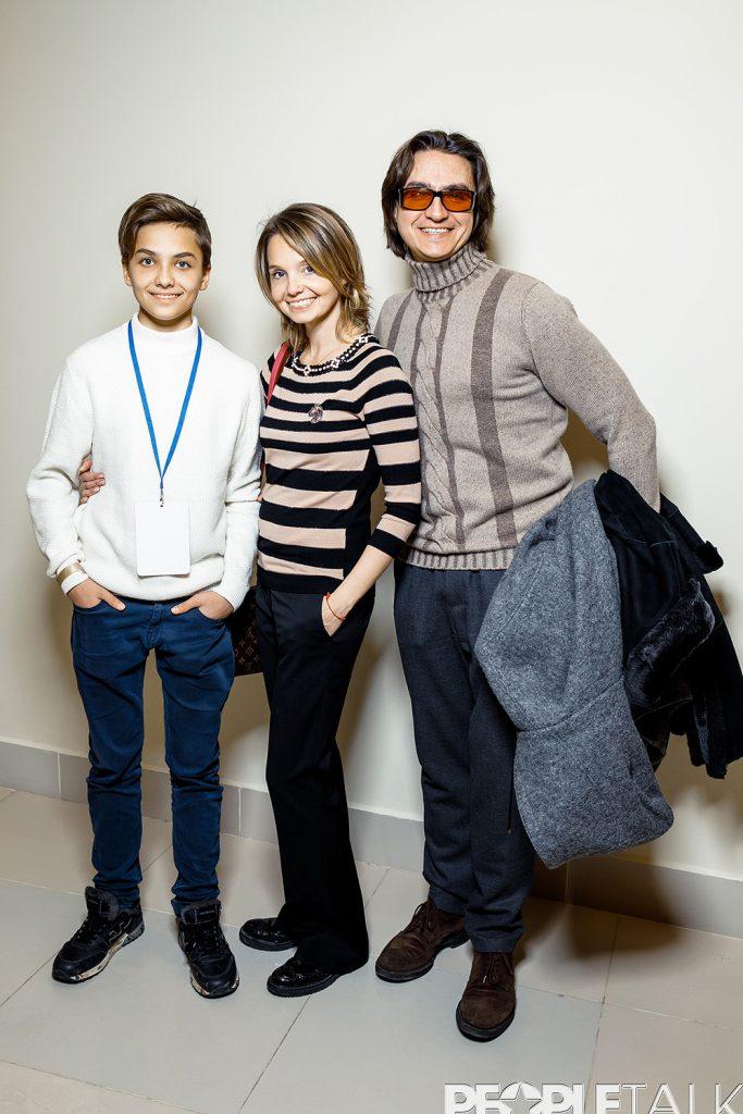 Мария Перлич и Сергей Филин с сыном