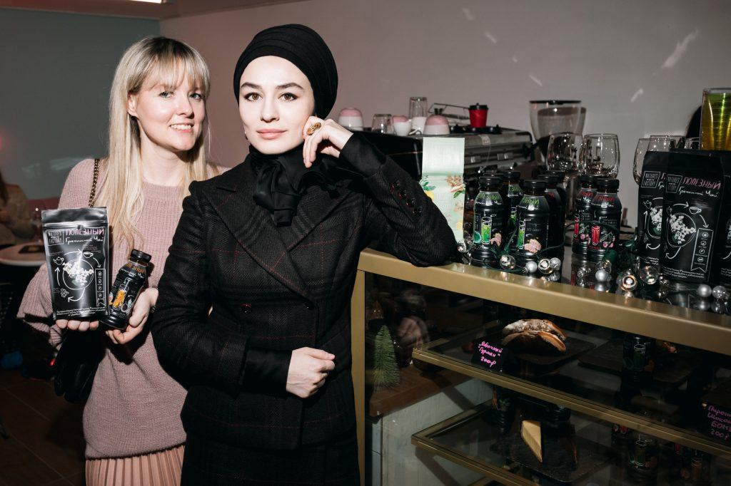 Седа Хункаева и Анна Хабарова