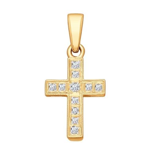 Крест из золота Sokolov, 12990 p. (sokolov.ru)