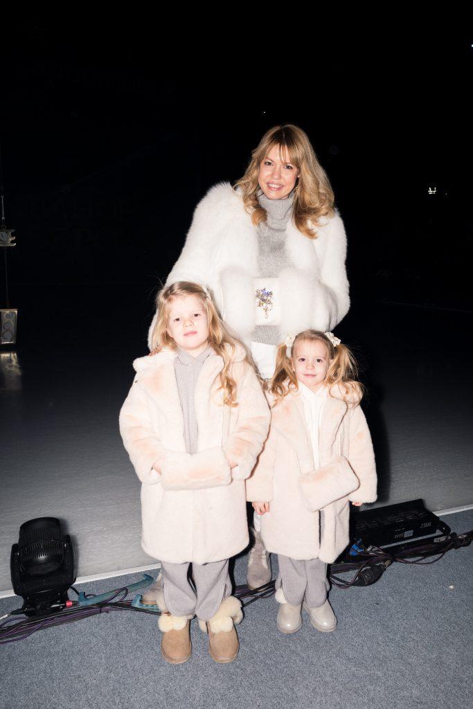 Юлия Акимова с детьми