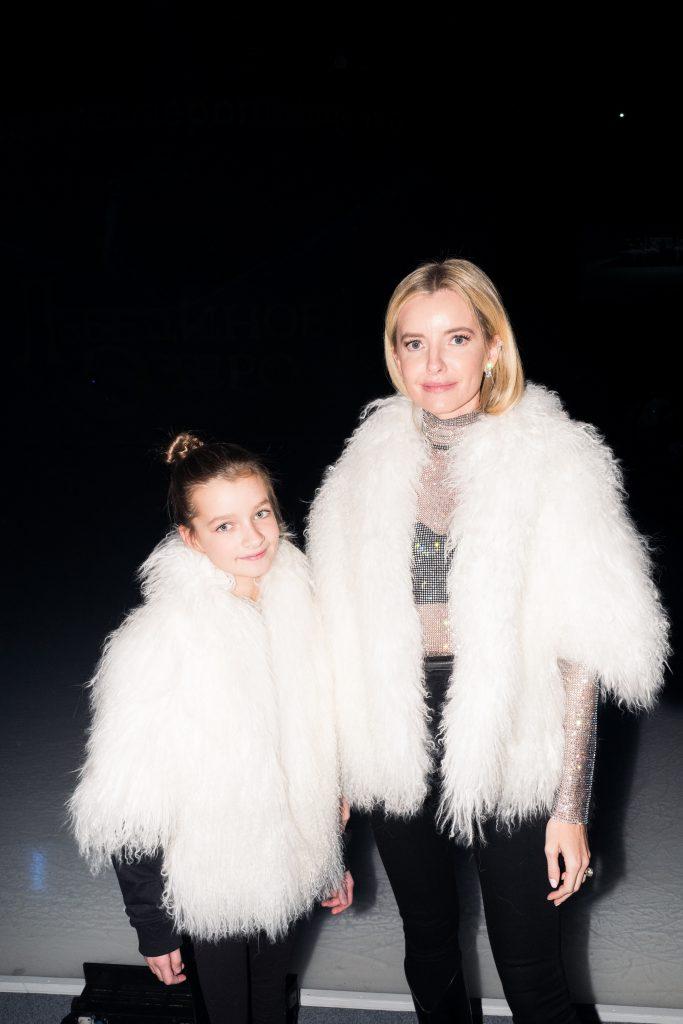 Наталья Якимчик с дочерью Сашей